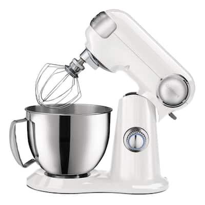 Precision Master 3.5 qt. Petite Stand Mixer in White