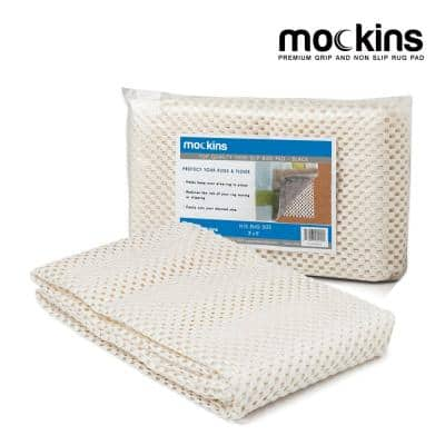 3 ft. x 5 ft. Premium Grip and Non-Slip Rug Pad in White