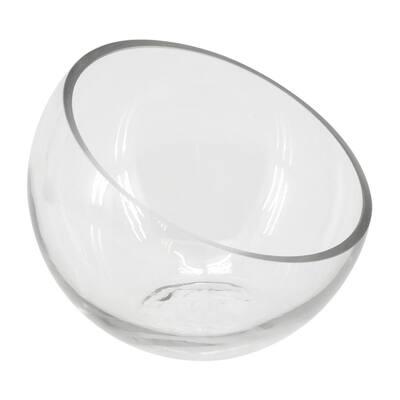 Slope 7 in. Dia Glass Terrarium