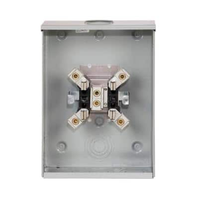 200 Amp Ring Type Single Meter Socket (OH, HL and P/Reliant Approved)