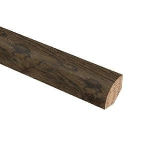 Ashor Hickory 3/4 in. Thick x 3/4 in. Wide x 94 in. Length Hardwood Quarter Round Molding