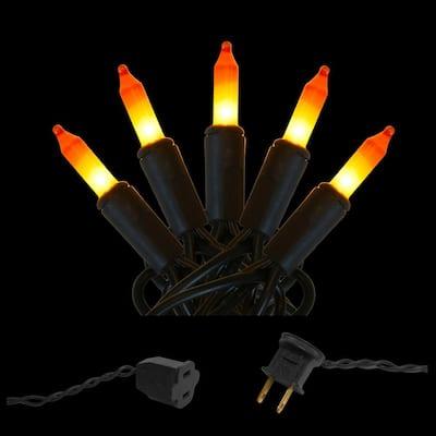 Electric 50 Mini String Lights - Candy Corn