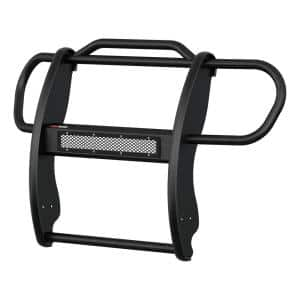 Pro Series Black Steel Grille Guard with Light Bar, Select Jeep Renegade