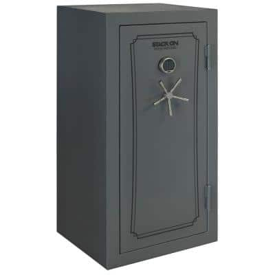 40-Gun Fire/Waterproof Safe with Electronic Lock and Door Storage