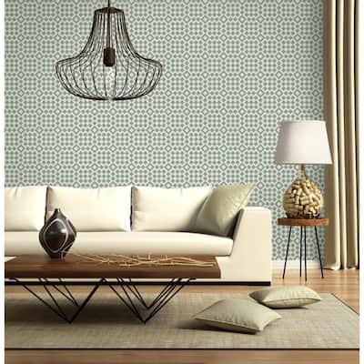 Turkish Bath Vinyl Peelable Wallpaper (Covers 36 sq. ft.)