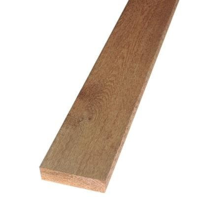 2 in. x 6 in. x 12 ft. Rough Green Western Red Cedar Lumber