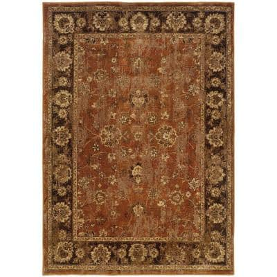 Calabria Rust 5 ft. x 8 ft. Area Rug