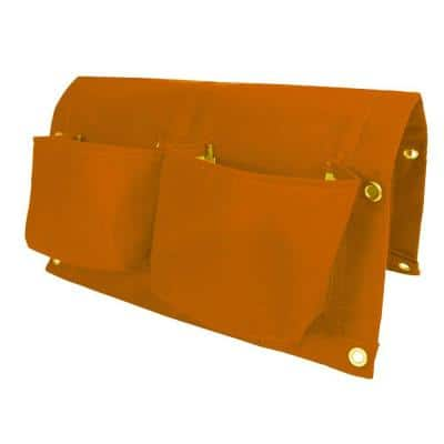 BloemBagz Deck Rail 4-Pocket Hanging Planter Bag  Tequila Sunrise