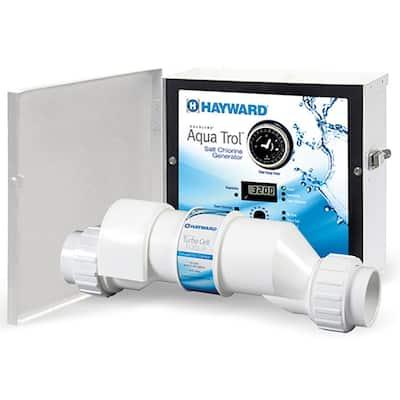 AquaTrol Salt Chlorinator System with TurboCell for Above Ground Pools