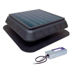 25-Watt Next-Generation – High-Efficiency Hybrid Solar/Electric Powered Roof Mount Exhaust Fan