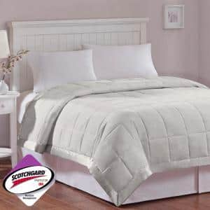 Prospect All Season Grey Hypoallergenic Down Alternative King Quilted Blanket