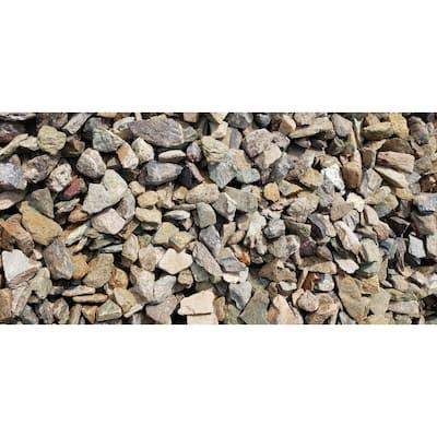 "10 cu. ft. Heritage Stone Assorted Colors .75"" - 1.25"" Decorative Stone - (1 Bag/10 cu. ft./Pallet)"