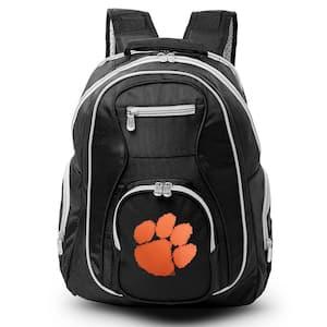 NCAA Clemson Tigers 19 in. Black Trim Color Laptop Backpack