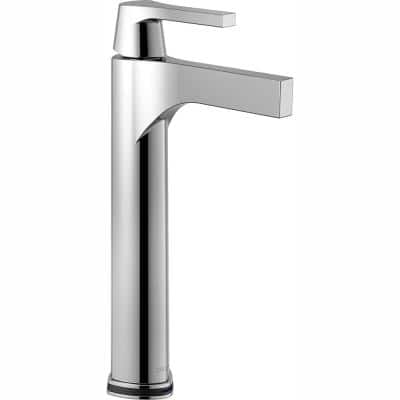 Zura Single Hole Single-Handle Vessel Bathroom Faucet with Touch2O.xt Technology in Chrome
