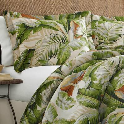 Palmiers Botanical Duvet Cover Set