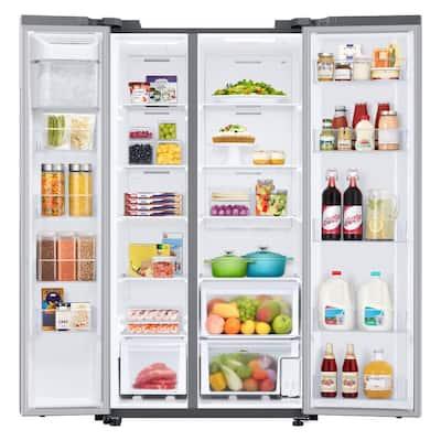 28 cu. ft. Smart Side-by-Side Refrigerator in Fingerprint Resistant Stainless Steel