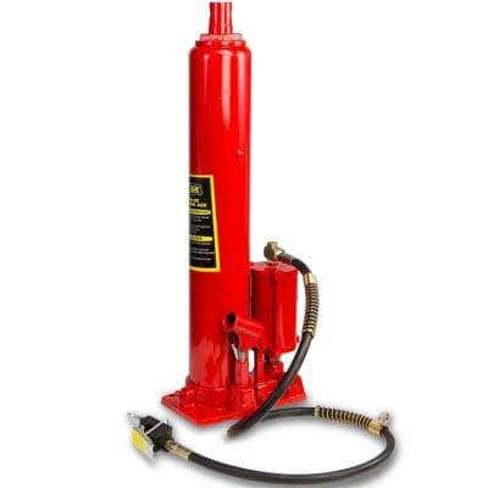 8-Ton (16000 lbs.) Long Air Hydraulic Ram Jack Double Pump Engine Hoist Lifter