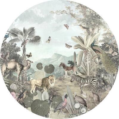 Utopia Multi-Colored Non Woven Dot Decal