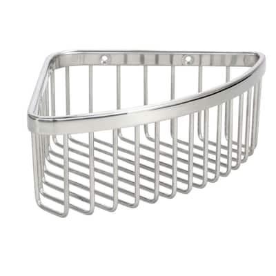 Medium Shower Basket in Polished Stainless