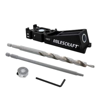 Milescraft PocketJig100 Pocket Hole Jig Kit - Single Barrel