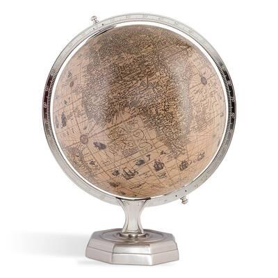 Zaniyah 17.30 in. Hondius Vintage Round Globe