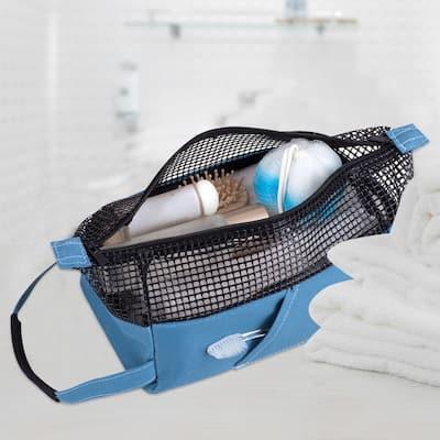All Purpose Mesh Tote Bag in Blue