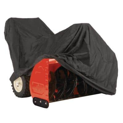 Universal Snow Blower Cover For Units 33 in. to 45 in. Wide with Built-In Bag for Convenient Storage