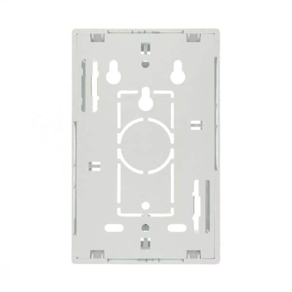1.45 Inches White Dual Gang Leviton 42777-2WB Surface Mount ...