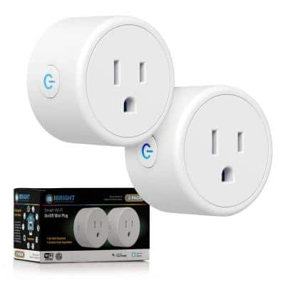 Switch and Charge Smart Wi-Fi Plug with 2 USB Ports
