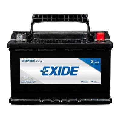 SPRINTER MAX 12 volts Lead Acid 6-Cell H6/L3/48 Group Size 750 Cold Cranking Amps (BCI) Auto Battery