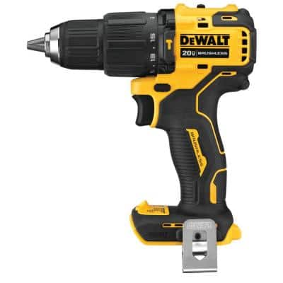 ATOMIC 20-Volt MAX Cordless Brushless Compact 1/2 in. Hammer Drill (Tool-Only)