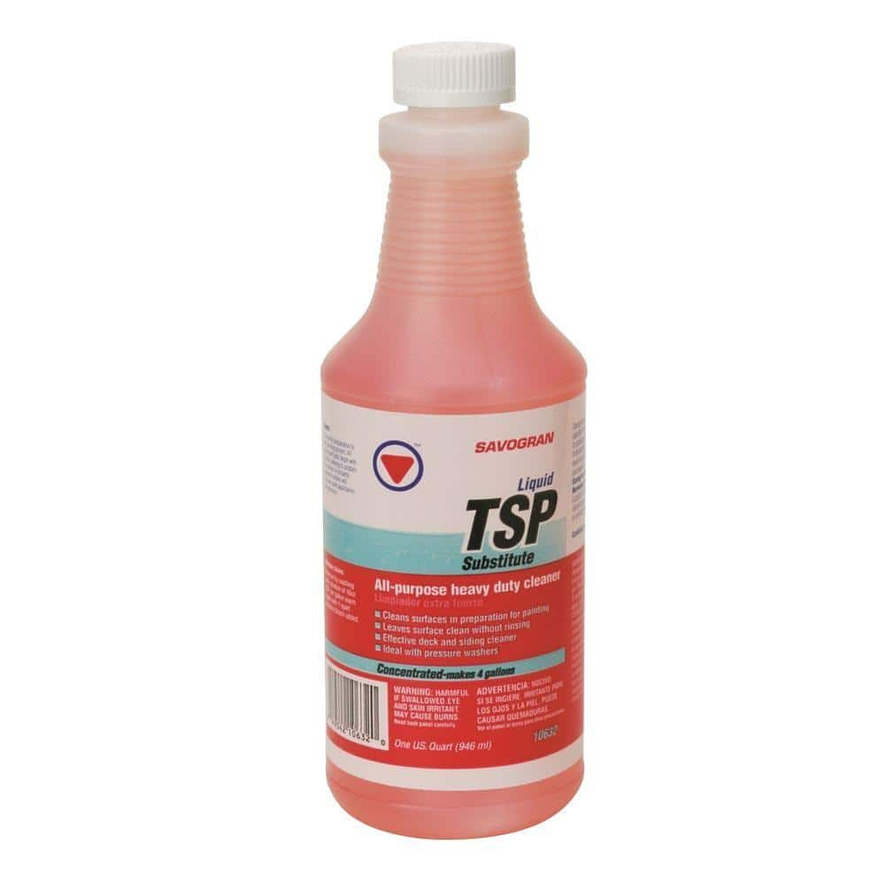 SAVOGRAN 12 qt. Liquid TSP Substitute Cleaner 120632   The Home Depot