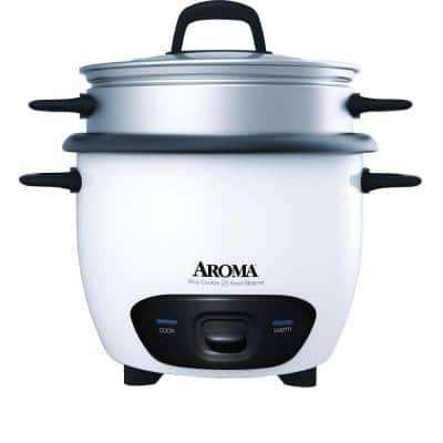 Pot-Style 6-Cup White Rice Cooker