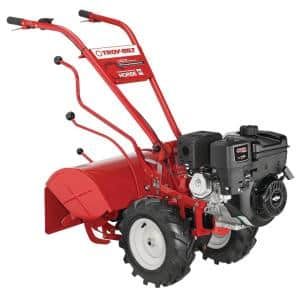 Horse 20 in. 306 cc OHV Briggs & Stratton Engine Rear Tine Forward Rotating Gas Garden Tiller