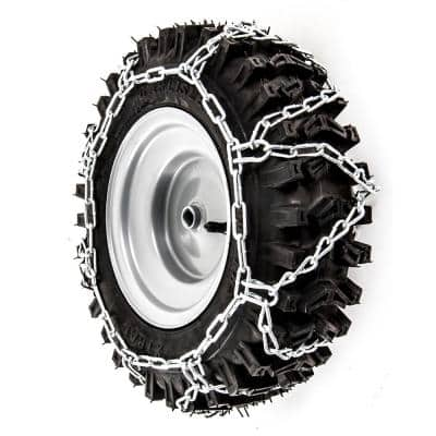 Snow Blower Tire Chains for 16 in. x 6.5 in. Wheels (Set of 2)