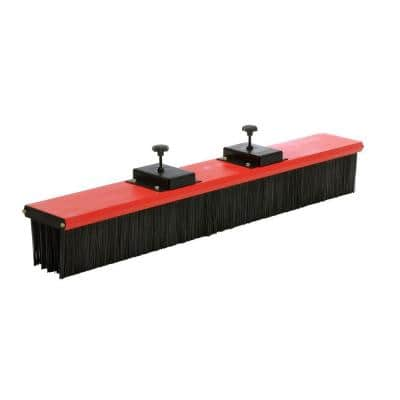 60 in. Sweeper with Brush Fork Truck Mounted
