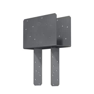 CCQ Column Cap for Triple-2x Beam, 6x Post with Strong-Drive SDS Screws