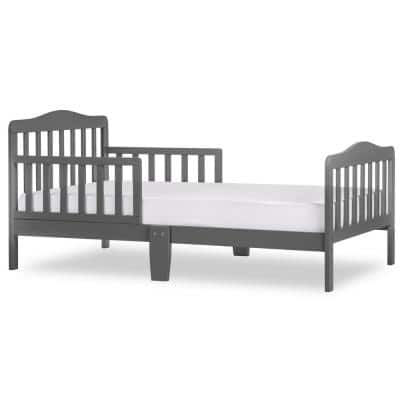 Classic Design Steel Grey Toddler Bed