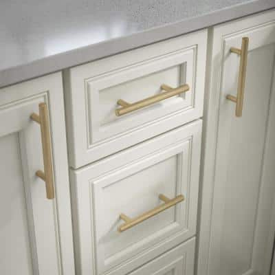 3 in. (76 mm) Center-to-Center Champagne Bronze Bar Drawer Pull