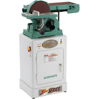 Combination Sander with Cabinet Stand
