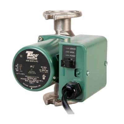 SmartPlus 1/25 HP Non-Submersible Hot Water Recirculation Pump in Stainless Steel with Integral Flow Check