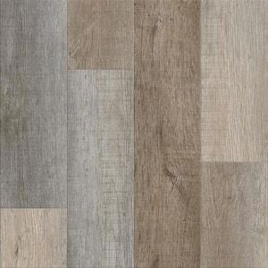 Vinyl Pro Classic Nantucket Harbor 7.12 in. W x 48 in. L Waterproof Luxury Vinyl Plank Flooring (23.77 sq. ft)