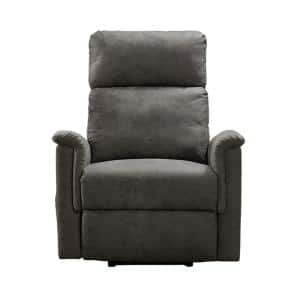Gray Power Lift Single Recliner Chair with Storage Bag and Supportive comfortable Headrest