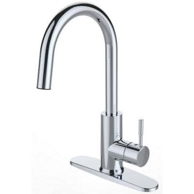 Single handle Sprayer Kitchen Faucet in Chrome