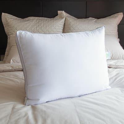 Hypoallergenic Polyfiber Queen Pillow