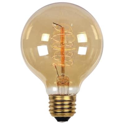 40-Watt Timeless Vintage Inspired Incandescent G25 Light Bulb