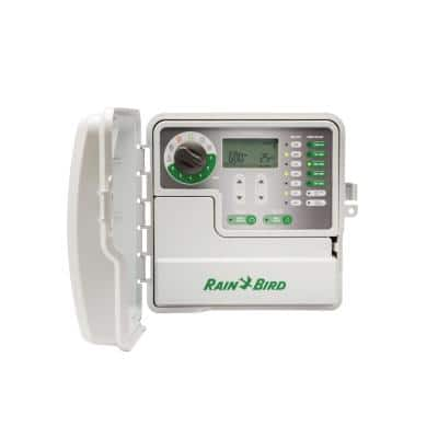 6-Station Indoor/Outdoor Simple-to-Set Irrigation Timer