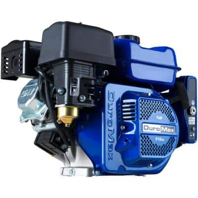 208cc 3/4 in. Shaft Portable Gas-Powered Recoil/Electric Start Engine