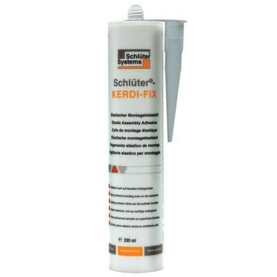 Kerdi-Fix 290 ml Gray Tile Edge Sealing/Bonding Compound