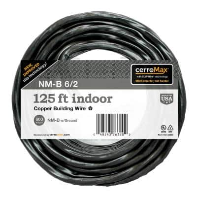 125 ft. 6/2 NM-B Wire